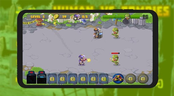 Humans Vs Zombies Wars Screenshot