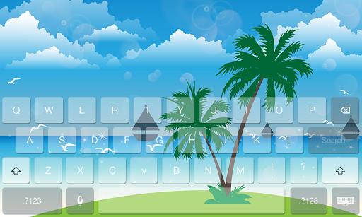 Summer Fresh Theme Keyboard