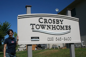 Photo: Crosby TownHomes Sign Installed, more carved signs at www.nicecarvings.com