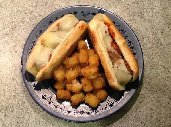 Leave hoagie rolls closed and Toast hoagie rolls only on the outside. Add the...