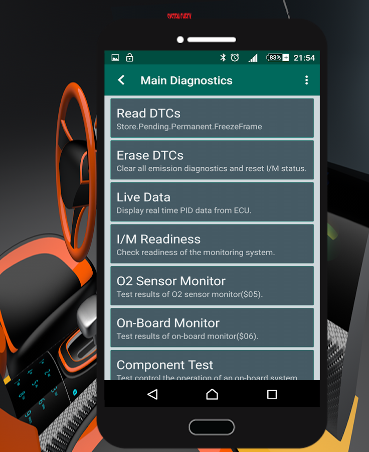 carsys scan best obd2 elm327 android apps on google play. Black Bedroom Furniture Sets. Home Design Ideas