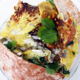 Mushroom Omelette To-Go