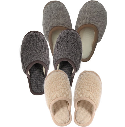 Ull Tofflor Slippers
