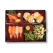 C. Sushi & Sashimi Bento