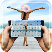 Photo Keyboard With Emojis – My Pic On Keypad
