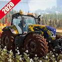 New Tractor Drive 2020:Offroad Sim Farming Games icon
