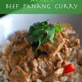Seester's Beef Panang Curry