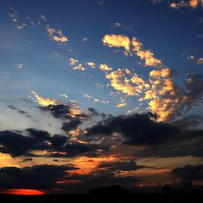by Souvik Nandi - Landscapes Cloud Formations