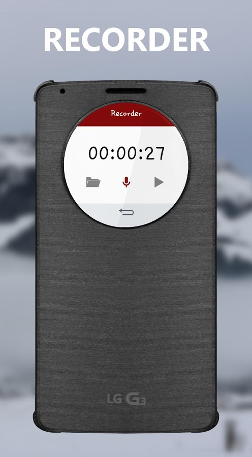 Recorder (Quick Circle)- screenshot