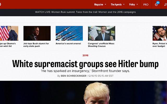 Trump or Hitler