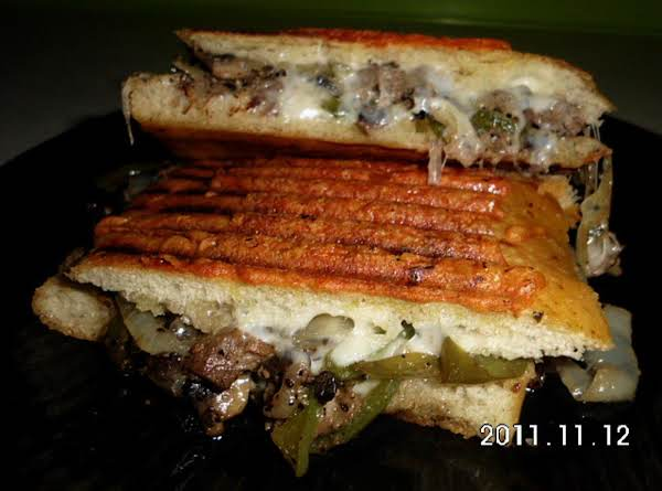 Philly Cheesesteak Panni's Recipe