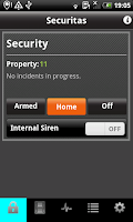 Screenshot of Securitas