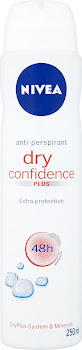 Nivea Dry Confidence Plus 48h Anti-Perspirant - 250ml