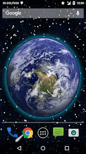 3D Moving Earth Live Wallpaper 5