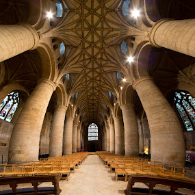 Tewkesbury Abbey by Roland Shanidze - Buildings & Architecture Places of Worship
