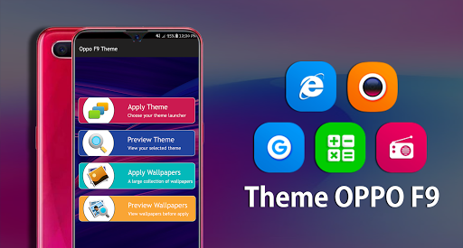 Launcher & theme for oppo F9 HD wallpapers 2019 App Report