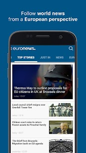 Euronews: Daily breaking world news & Live TV Screenshot