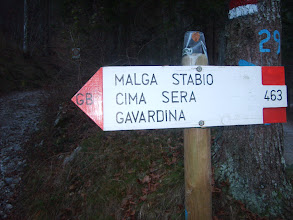 Photo: Segnaletica al passo Duron
