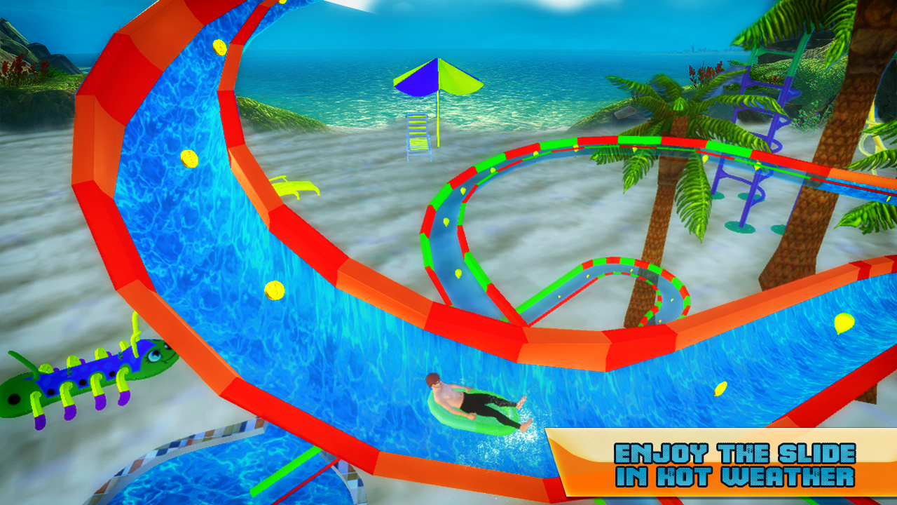 Water Slide Adventure Park 3D- screenshot