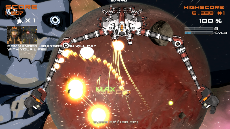 Quantum Revenge - Mecha Robot Space Shooter Screenshot 12
