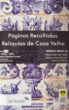 Photo: Páginas recolhidas, relíquias de Casa Velha Assis, Machado de  Localização: Braille C A866p  Edição Braille