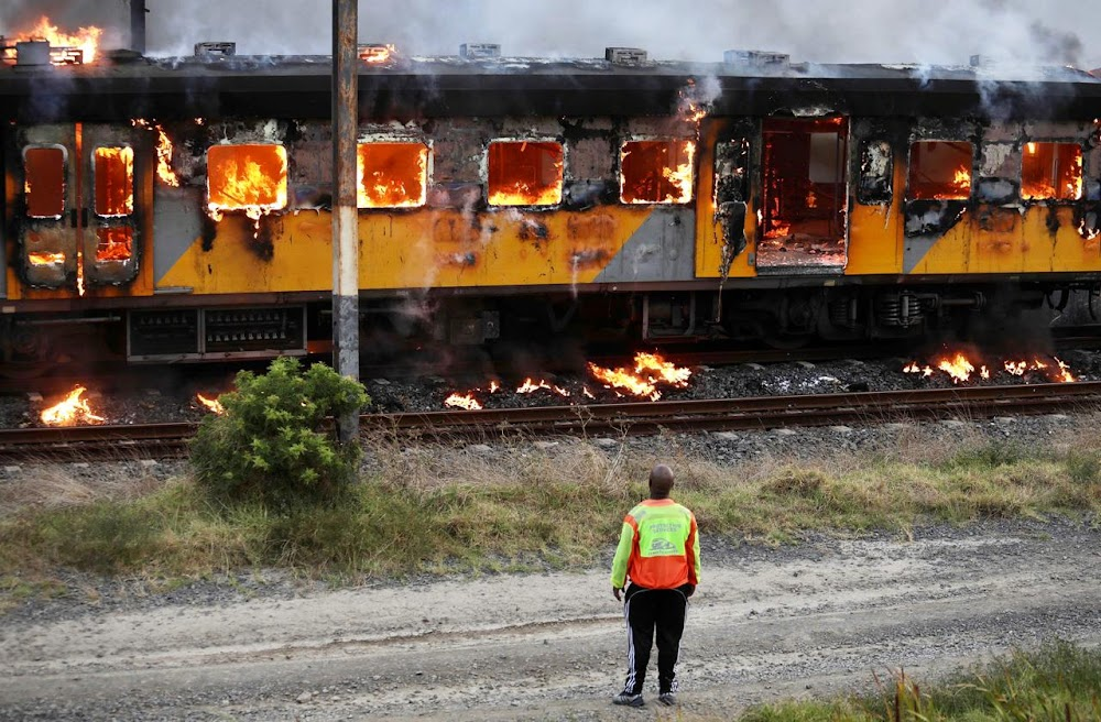 Just 32 trains left in Cape Town after latest fire destroys carriages, locomotive - TimesLIVE