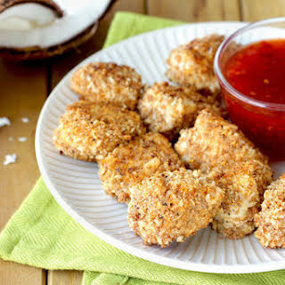 Coconut-Crusted Chicken Nuggets.