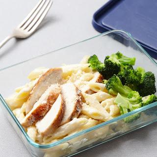Chicken & Broccoli Alfredo.