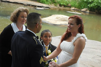 Photo: Wedding at Falls Park on the Reedy River - Greenville, SC -May, 2011 -  Photo Courtesy Gaby Barrientos - http://WeddingWoman.net
