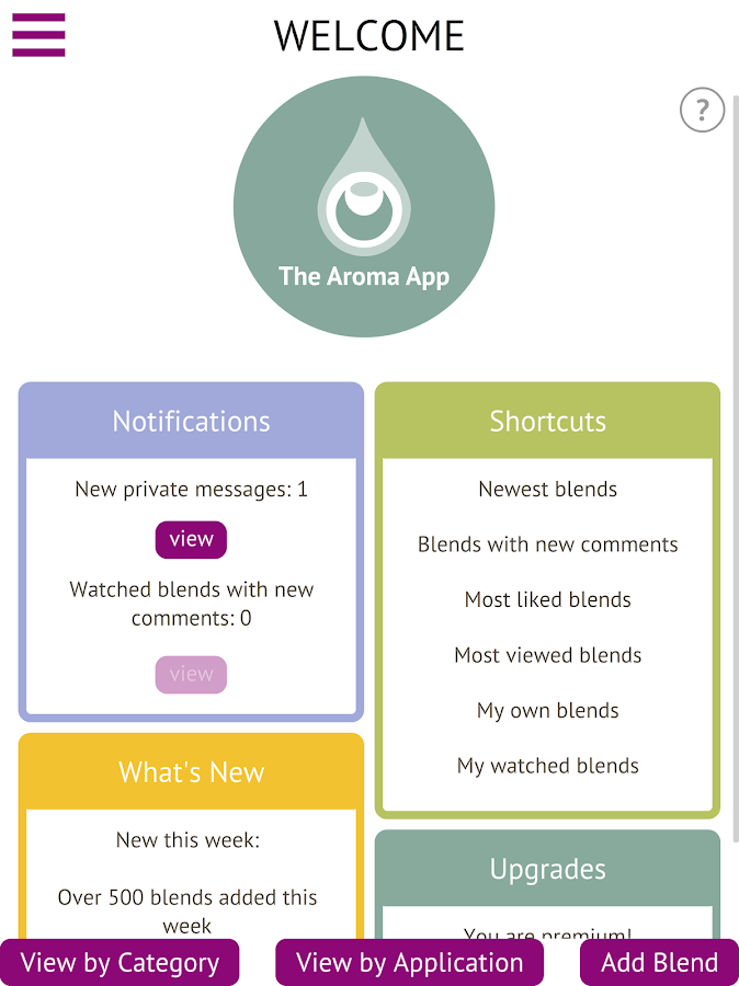 The Aroma App - Essential Oils- screenshot