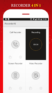 All in 1 Recorder -Call/Voice/Screen/Video App Download For Android 9