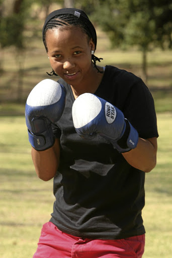 SA junior featherweight champion Gabisile 'Simply The Best' Tshabalala.
