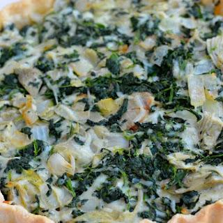 Spincah Artichoke Tart