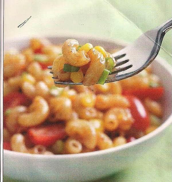 Barbecue Macaroni With Corn And Scallions, Tnt