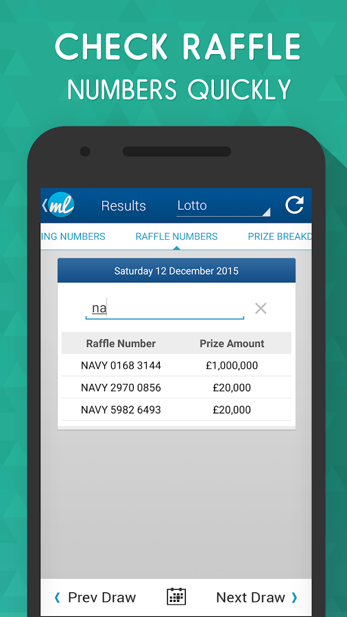 UK Lottery Results (UK lotto)- screenshot