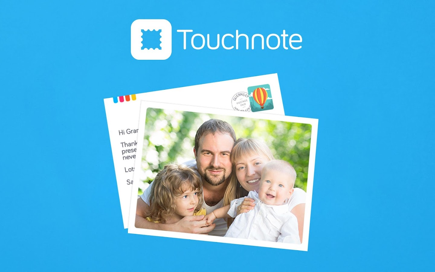 Touchnote- screenshot