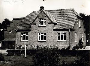 Photo: Kirkegade nr. 17 , Rødding Bageri 1960,