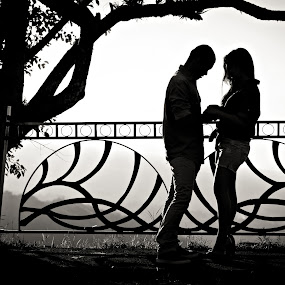 ... let's wait a while by Ben Brian Banao - People Couples