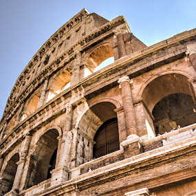 The Colosseum by Steve Densley - Buildings & Architecture Public & Historical ( history, colosseum, rome, architecture, italy )