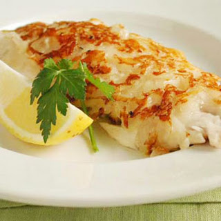 Potato-Crusted Red Snapper.