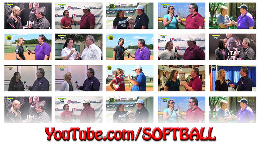 Fastpitch Softball YouTube Videos and Interviews