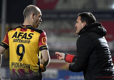 Pedersen kan duidelijk veel betere cijfers voorleggen bij KV Mechelen dan bij AA Gent en KV Oostende