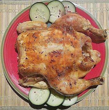 Lemony Herbed Roasted Chicken Recipe