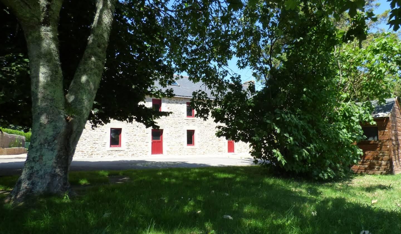 Maison avec piscine Ploeren