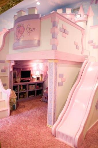 城堡主题卧室设计