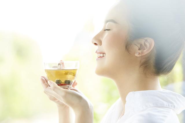 """緑茶を""""食べて""""ダイエット効果!"""