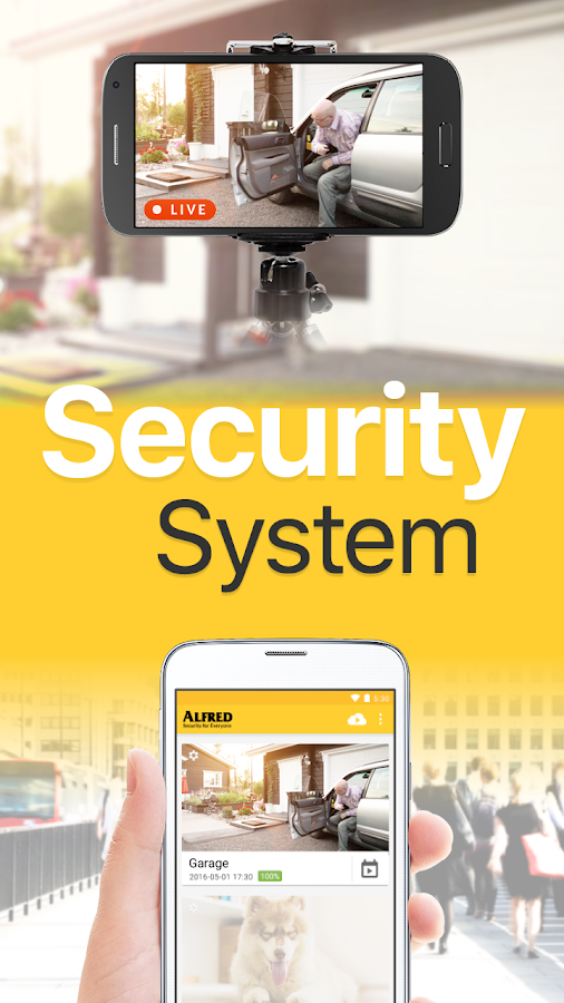 Home Security Camera - Alfred- screenshot