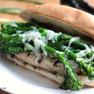 Chicken Sausage Sandwich.