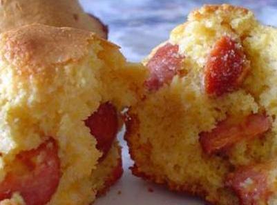 Chili Corn Dog Muffins Recipe