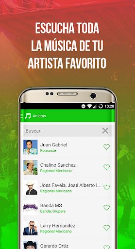 Radiulo Free Mexican music and Mexican radio 6.1.1 screenshots 5